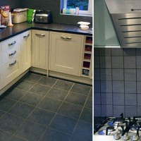 Kitchen Floor & Splashback